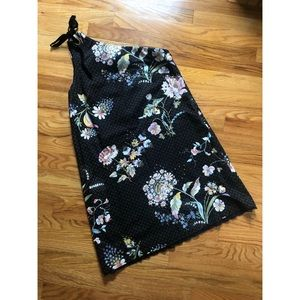 NWOT Maeve Sz 8 one shoulder floral dress